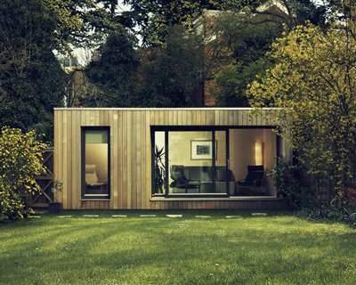 Garden Home Office Contemporary Garden Office Studio UK Ecospace