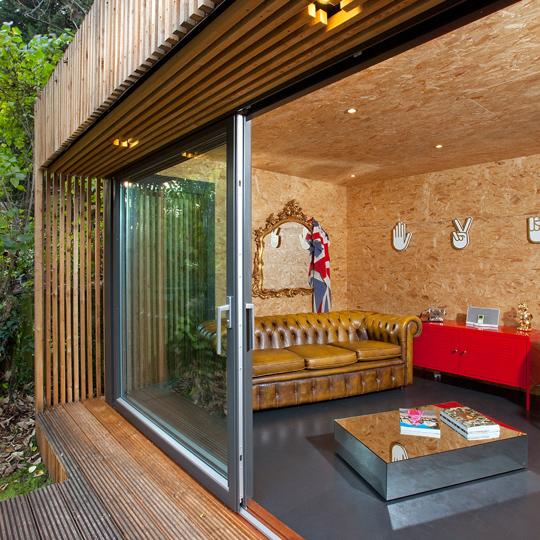 Contemporary Garden Room & Office