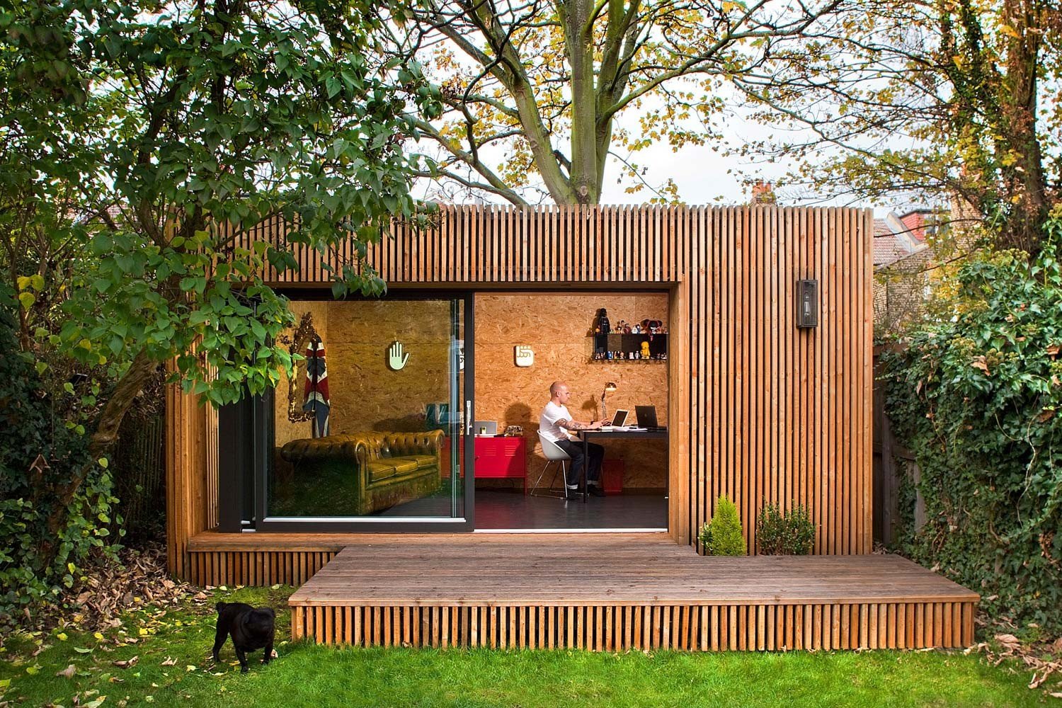 home office in the garden. Flexible Options Home Office In The Garden